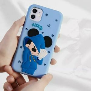 Iphone 11 Case Mickey Soft Silicone 3D